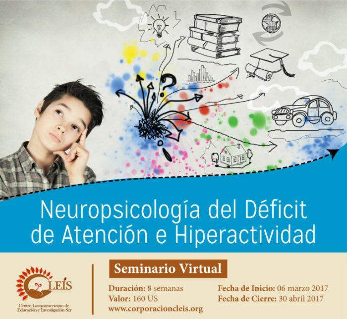Seminario: Neuropsicología del Trastorno por Déficit de Atención eHiperactividad